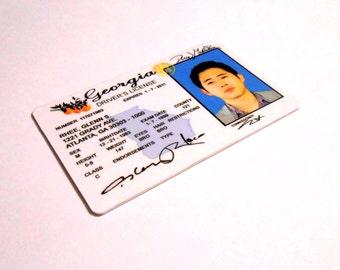 The Walking Dead - GLENN RHEE - Steve Yeun - ID Card / License