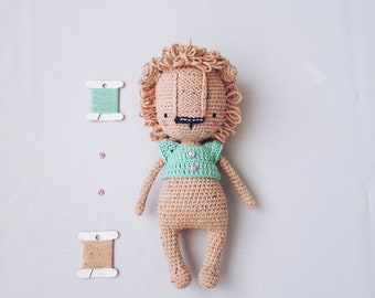 Crochet LION pattern