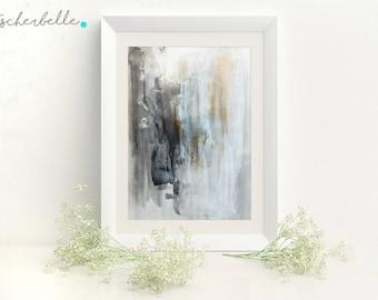 Dragonfly - art print, abstract art, acrylic, modern, art