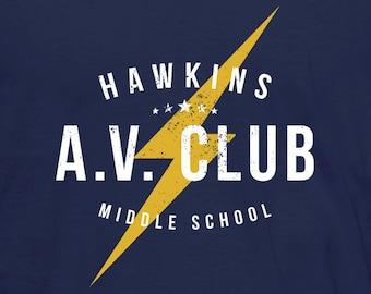 Hawkins A.V. Club T-Shirt