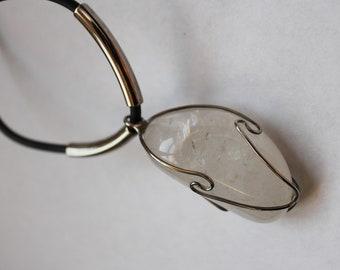 Vintage Large Polish Crystal Necklace