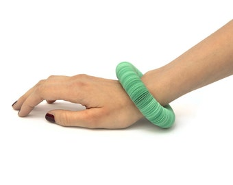 mint: Bracelet CARTA - paper jewelry