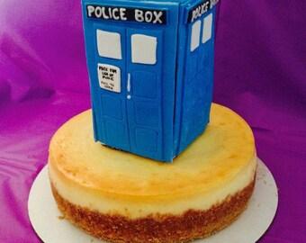 Dr Who Tardis Cake Topper