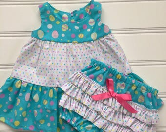 Baby Easter Dress, Girl Easter Dress, Baby Easter Outfit, Baby Girl Dress, Newborn Dress, Baby Dress, Easter Baby Outfit, Ready to Ship