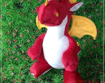 Dragon B 12 inches - PDF Sewing pattern