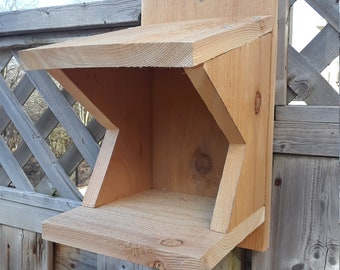 Bird Nesting Shelf