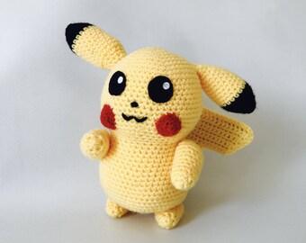 PIKACHU (Pokémon) crochet
