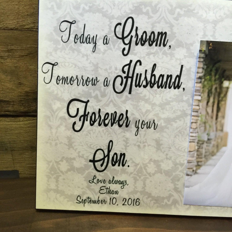 Today a Bride & Today a Groom Wedding Frame Gift Set, Wedding ...