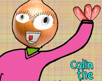 Colin the Monster - Children's Picture Book by Isabella & Simon Hetherington
