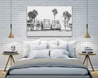 Venice beach black and white photography/California Decor/Venice Beach art/Los Angeles wall art/Venice beach prints/beach house decor