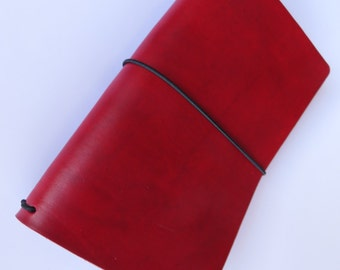 Cherry Travelers Notebook
