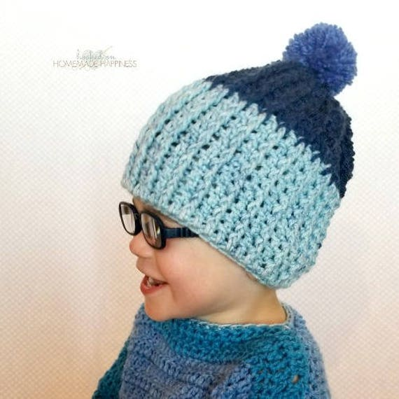 Ribbed Crochet Beanie Pattern Easy Crochet Pattern Beginner