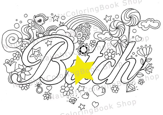 Playful image for free printable word coloring pages