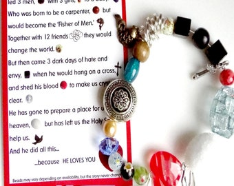 Individually Handmade Love Story Bracelet