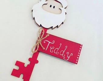 Santa & Reindeer keys