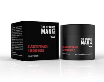 Classic Pomade Strong Hold 02