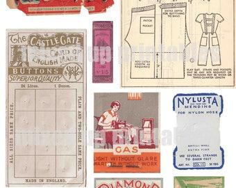 Mixed Up Printables - Sewing Ephemera #2