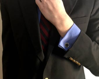 Black and Gold Cuff Links