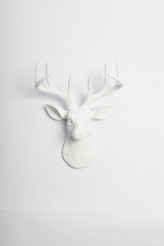 Faux Deer Head Wall Mount The MINI Templeton Deer Head Decor