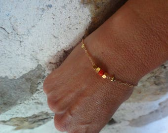 Curb fine metal beads