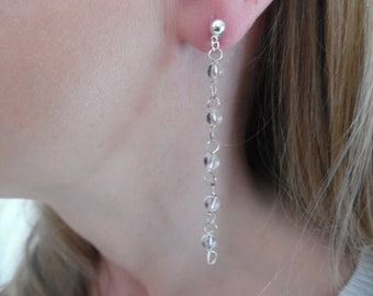 Wire-Wrapped Crystal Earrings