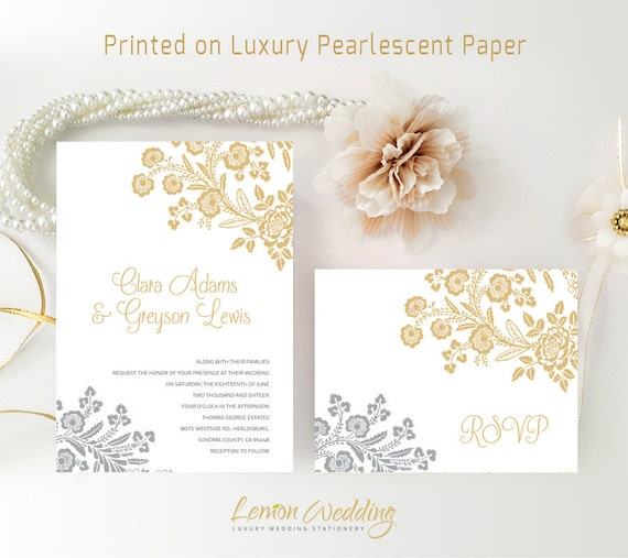 Cheap Wedding Invitations With Rsvp Postcard Printed On