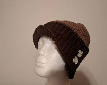 Made to order slouchy beanie cloche hat
