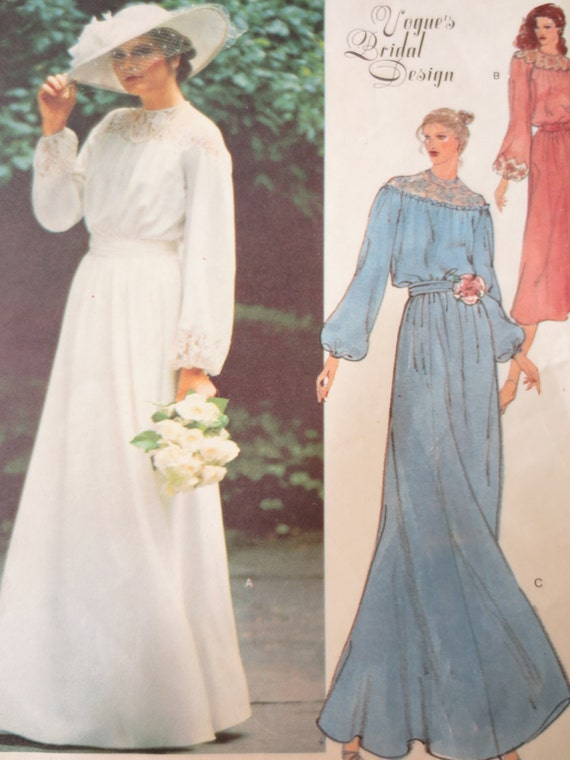 Items similar to Vintage Vogue 2017 Sewing Pattern, 1970s Dress ...
