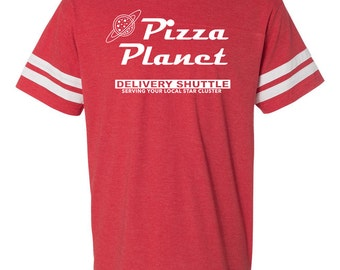 THE ORIGINAL Pizza Planet football tee| Toy Story shirt| Pizza Planet party shirt| Disney family shirt| Toy Story tee