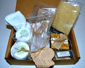 Bergamot Rose Spa Box, Relaxation Kit, Soap Box, Box of Zen, Relax Gift, Gift for her, Anniversary Gift, Wedding Present, Gifts for her