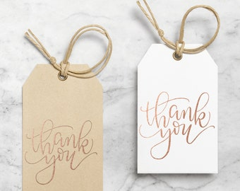Thank You Gift Tag / Gift Tags / Wedding Favor Tags / Hang Tag / Thank You Tags / Wedding Tags / Custom Gift Tag / Bridal Shower Tag