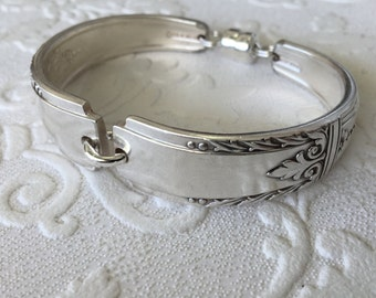 Squared Spoon Handle Bracelet with Magnetic Clasp