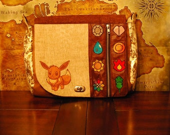 Finished Product!! Pokemon inspired Eevee Satchel