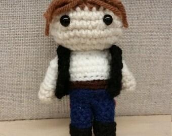Crochet Han Solo Amigurumi