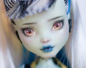 Doll Repaint | Monster High Custom | Frankie Stein