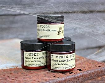PUMPKIN WOODS - Limited Edition - Rinse Away Body Conditioner - Shower Body Cream - 2 Oz