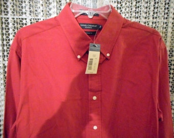 Very Nice Shirt,  Great Color  byDANIEL CREMIEUX SILK   Size Large   Never Worn,   Still With Tags On