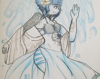 Steven Universe Modern - Lapis Lazuli