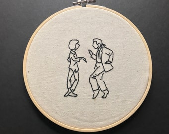 Pulp Fiction Embroidery
