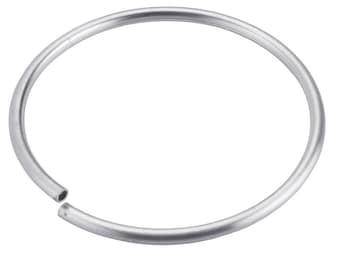 Sterling Silver Round Flex-Tube Bracelet