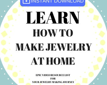 Craft Supplies, learn silversmithing, Silversmithing Tutorials,make Jewelry, Learn how to make jewelry, jewelry tutorials, tutorials jewelry