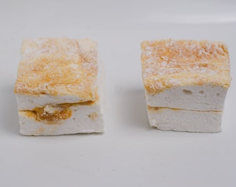 Dulce de Leche Marshmallows - 1 dozen Gourmet homemade marshmallows
