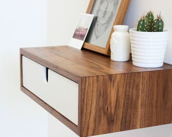 Floating Nightstand / Bedside Table
