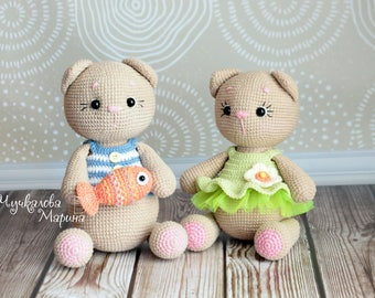 PATTERN Motya the little kitten PDF crochet pattern
