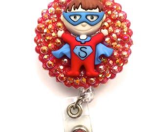 Retractable Badge Reel - Superhero