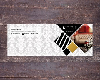 Kori  facebook cover - Instant download