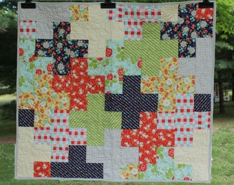 Happy Go Lucky Plus Quilt