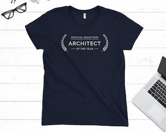 Gift for Architect, Architect Gift, Architect Present, Architect T-shirt, Architect Gift Idea, Architect Tee, Gift for Women, Ladies T-shirt