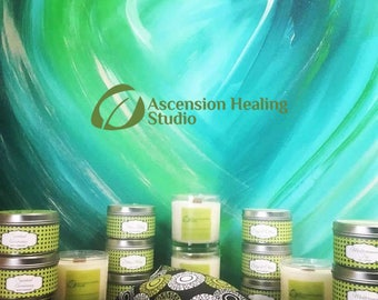YOUR LOGO Soy Candle Tin | Corporate Gifts, Trade Shows, Client Gifts, Customer Gifts, Promotional Items