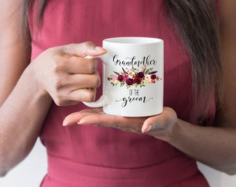 Grandmother To The Groom Mug, Grandmother of the Groom Gift, Gift For Grandma, Grandmother Wedding Gift, Wedding Gift, Grandma Mug